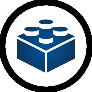 Logo waveware® CONSTRUCTOR - Systembaukasten