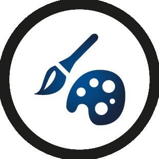 Logo waveware® DESIGNER - Oberflächenanpassung